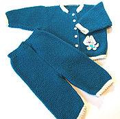 """Работы для детей, ручной работы. Ярмарка Мастеров - ручная работа Детский костюм теплый """"Котенок"""". Handmade."""