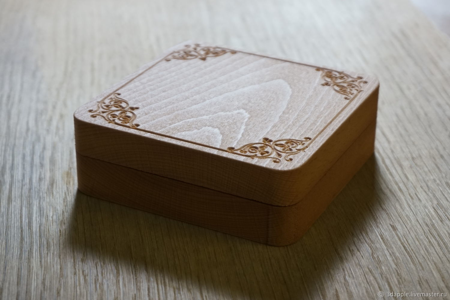 Large carved wooden decoration box, Box1, Moscow,  Фото №1