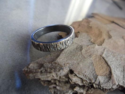 Кольца ручной работы. Ярмарка Мастеров - ручная работа. Купить кольцо серебро Кора 2. Handmade. Серебряный, кольцо обручальное