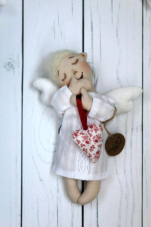 Ангел-валентинка, Мягкие игрушки, Краснодар,  Фото №1