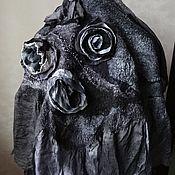 Аксессуары ручной работы. Ярмарка Мастеров - ручная работа Валяный бактус (шаль). Handmade.