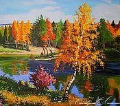 """Картины и панно ручной работы. Ярмарка Мастеров - ручная работа Картина маслом """"Прекрасная осень"""". Handmade."""
