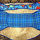 Пояс из собачьей шерсти, выполненный методом мокрого валяния. Внешняя часть выполнена из 100 х/б ткани (фланель) и пристрочена к войлоку. В наличии пояса женский (объём талии- 90 см), мужской (75-80)