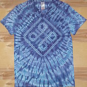 "Одежда handmade. Livemaster - original item Men`s T-shirt ""World"". Handmade."