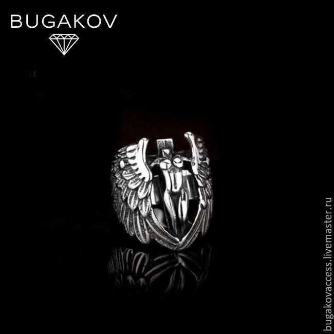 """Кольцо из стали """"Ангел-Хранитель"""", Кольца, Москва, Фото №1"""