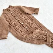 Одежда детская handmade. Livemaster - original item Knitted jumpsuit for boy. Handmade.