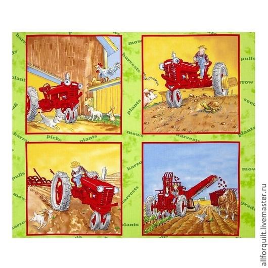 Шитье ручной работы. Ярмарка Мастеров - ручная работа. Купить панель Harvest, 90х110 см.,США. Handmade. Американский хлопок