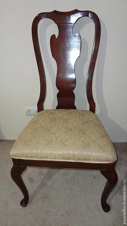 Декупаж и роспись ручной работы. Ярмарка Мастеров - ручная работа. Купить Американские стулья Б/У для реставрации, под перекраску. Handmade.