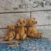 Куклы и игрушки ручной работы. Ярмарка Мастеров - ручная работа Тедди-мишка 4 см.. Handmade.