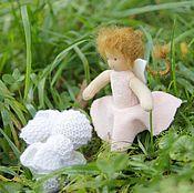 Вальдорфские куклы и звери ручной работы. Ярмарка Мастеров - ручная работа Вальдорфская фея Фауна 13 см. Handmade.