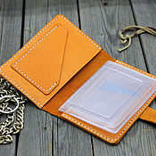 Сумки и аксессуары handmade. Livemaster - original item Women`s leather Wallet for car documents. Handmade.