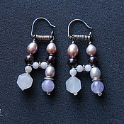 Украшения handmade. Livemaster - original item Double earrings