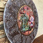 Часы классические ручной работы. Ярмарка Мастеров - ручная работа Часы Fleurs.. Handmade.