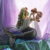 Куклы и игрушки ручной работы. Ярмарка Мастеров - ручная работа Кукла Русалочка. Handmade.