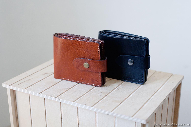 Wallet mens leather OREGON, Wallets, Volgograd,  Фото №1
