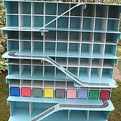 Кукольные домики ручной работы. Ярмарка Мастеров - ручная работа Гараж парковка для детских машинок три спуска, высота 85 см. Handmade.