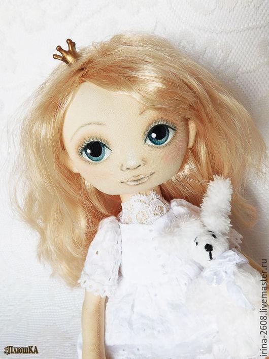 Коллекционные куклы ручной работы. Ярмарка Мастеров - ручная работа. Купить Танюшка. Игровая или интерьерная текстильная кукла. Handmade.