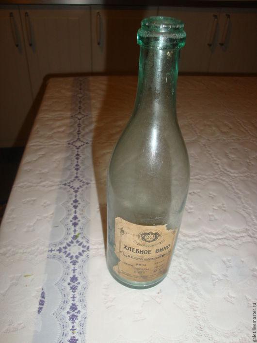 Винтажная посуда. Ярмарка Мастеров - ручная работа. Купить Антикварная бутылка от хлебного вина 1925г. RAR. Handmade. Антиквариат винтаж