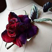 Цветы ручной работы. Ярмарка Мастеров - ручная работа Бархатная роза. Handmade.
