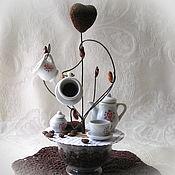 Подарки к праздникам ручной работы. Ярмарка Мастеров - ручная работа Кофейное дерево для интерьера. Handmade.