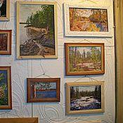 Картины и панно ручной работы. Ярмарка Мастеров - ручная работа картины из каменной крошки .Природа. Handmade.