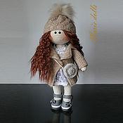 Тыквоголовка ручной работы. Ярмарка Мастеров - ручная работа Кукла ручной работы, Кукла вязанная, Кукла интерьерная. Handmade.