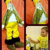 Куклы и игрушки ручной работы. Ярмарка Мастеров - ручная работа Тильда зайчик. Handmade.