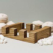 Посуда handmade. Livemaster - original item Stand for three cutting boards, color