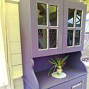 Для дома и интерьера handmade. Livemaster - original item Buffet Cabinet from solid cedar a Bouquet of Lilacs. Handmade.