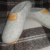 Обувь ручной работы. Ярмарка Мастеров - ручная работа Тапотули мужские. Handmade.