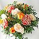 Букеты ручной работы. Ярмарка Мастеров - ручная работа. Купить Букет цветов в подарок. Handmade. Букет цветов, букет из тюльпанов
