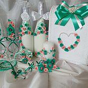 Свадебный набор (бокалы для шампанского)