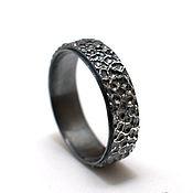 Украшения handmade. Livemaster - original item Silver 925 ring Skinscales black. Handmade.