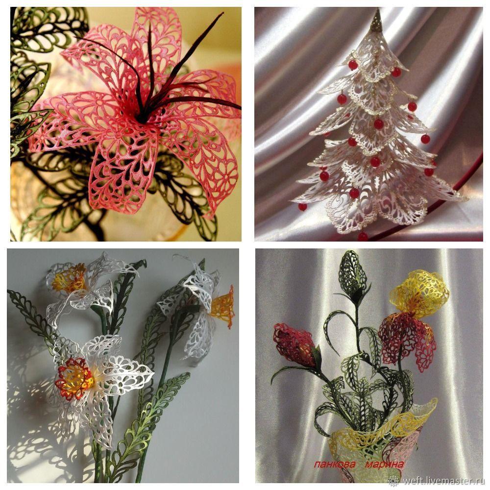 Видео МК  ажурные цветы из ткани, Обучающие материалы, Череповец, Фото №1
