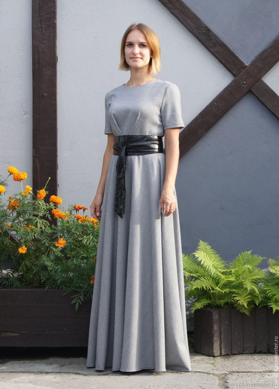 Dress crow's foot 'Olenka', dress made of viscose, Dresses, Kaliningrad,  Фото №1