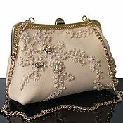 Сумки и аксессуары handmade. Livemaster - original item Evening bag, Embroidery, Lace. Handmade.