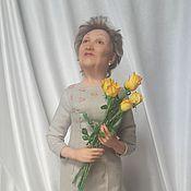 Куклы и игрушки ручной работы. Ярмарка Мастеров - ручная работа Портретная кукла Нина. Handmade.