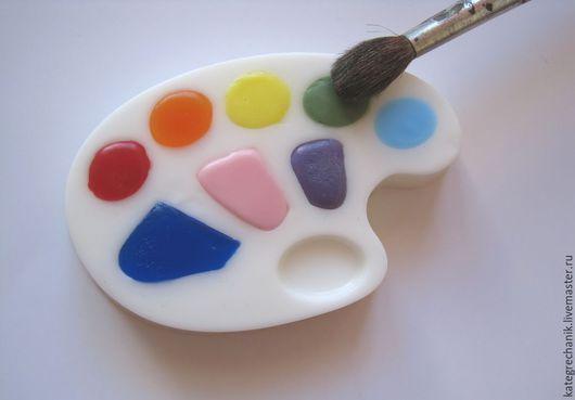 """Мыло ручной работы. Ярмарка Мастеров - ручная работа. Купить Мыло """"Палитра"""". Handmade. Разноцветный, оригинальный подарок"""