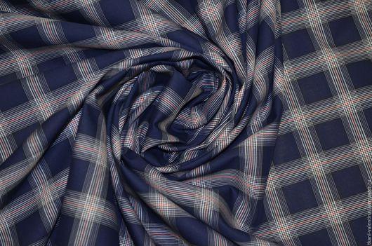 Шитье ручной работы. Ярмарка Мастеров - ручная работа. Купить Плательно-блузочный хлопок. Италия.. Handmade. Ткань, платье, хлопок