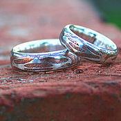 Обручальные кольца  Mokume gane