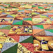 """Для дома и интерьера ручной работы. Ярмарка Мастеров - ручная работа одеяло """"Сомелье"""". Handmade."""