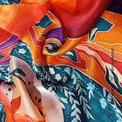 Аксессуары ручной работы. Ярмарка Мастеров - ручная работа Батик платок Bright mix. Handmade.
