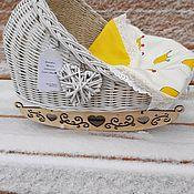 Кукольные домики ручной работы. Ярмарка Мастеров - ручная работа Люлька качалка для Baby Born 45см. Handmade.
