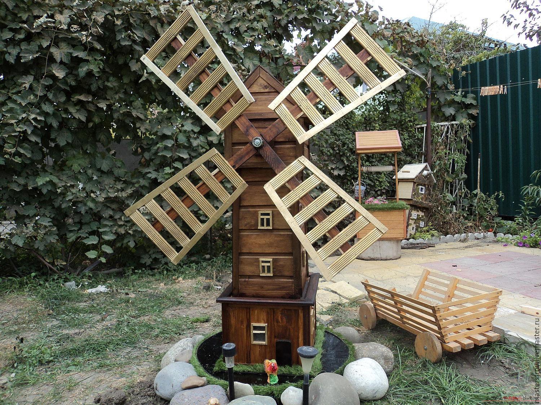 прославился декоративные украшения для сада из дерева фото примеры использования