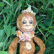 Куклы и игрушки ручной работы. Ярмарка Мастеров - ручная работа Цирковая обезьянка Лукас. Авторская, интерьерная кукла.. Handmade.