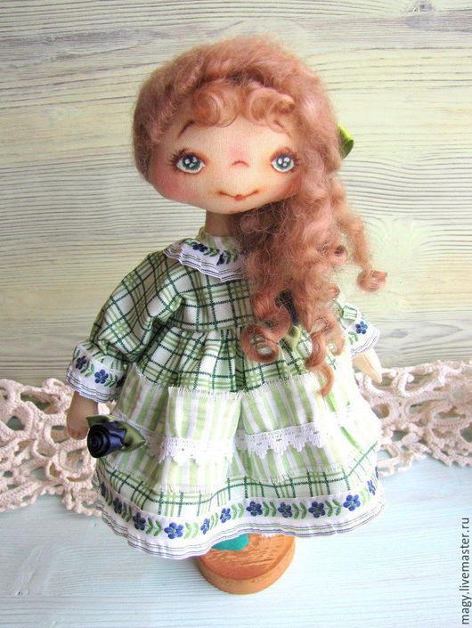 Коллекционные куклы ручной работы. Ярмарка Мастеров - ручная работа. Купить Текстильная кукла - Лорушка. Handmade. Кукла ручной работы