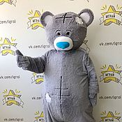 Одежда handmade. Livemaster - original item Grey Bear mascot. Handmade.