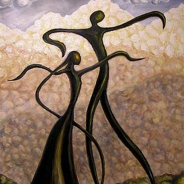 Картины и панно ручной работы. Ярмарка Мастеров - ручная работа Ритмы гор. Handmade.