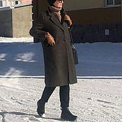 Пальто демисезоное из шерсти Италия