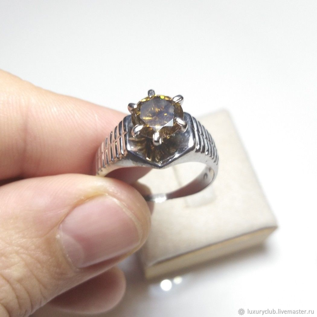 Ring with natural diamond buy, Rings, Tolyatti,  Фото №1